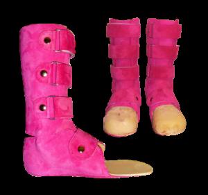 Innenschuhe Pink 3
